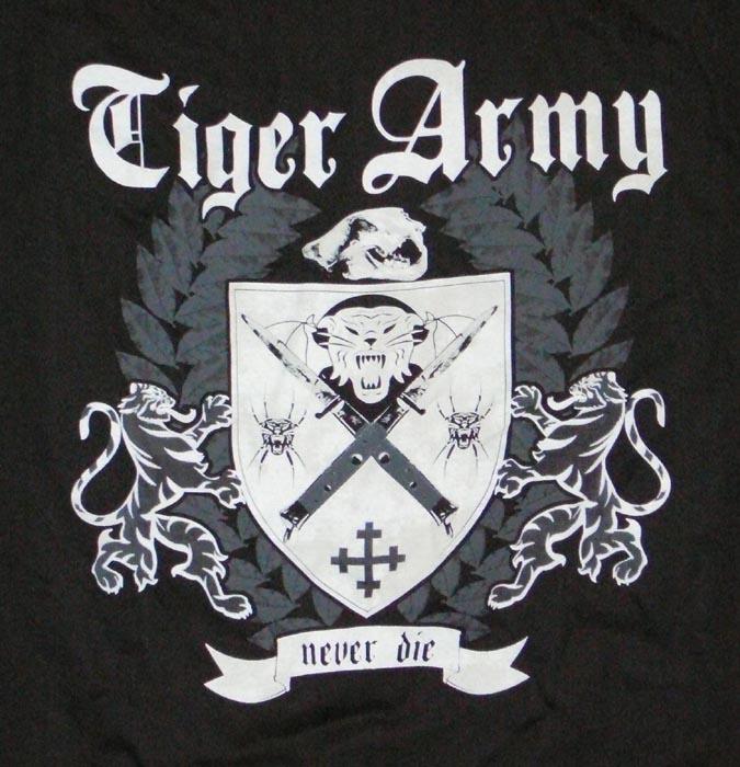 EVB's Tiger Army collection