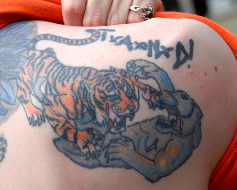 Ghost tigers for Panther tiger tattoo